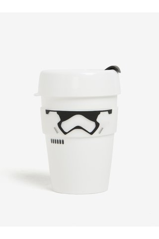 Cana alba de calatorie cu tematica Star Wars KeepCup Stormtrooper Original Medium