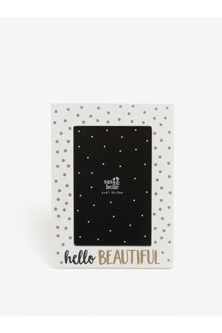 Rama foto cu print - Sass & Belle Hello Beautiful