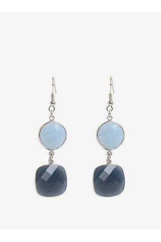Cercei cu pietre bleumarin&bleu Pieces Marley