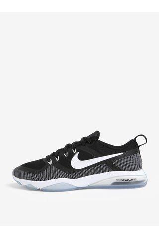 Pantofi sport de antrenament negru & alb pentru femei - Nike Zoom Fitness Training