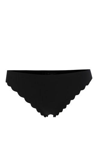 Černé kalhotky Y.A.S Scallop