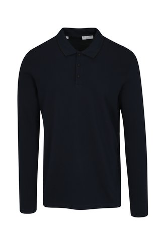 Bluza polo bleumarin Selected Homme Gio