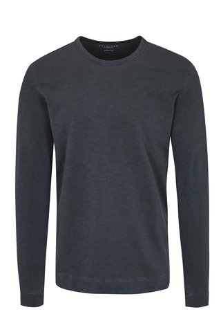 Bluza basic gri albastrui inchis Selected Homme Ben