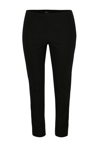 Pantaloni elastici negri cu talie clasica - Ulla Popken