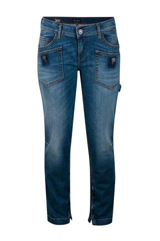 Modré skinny džíny s kapsami Fornarina Mayer New