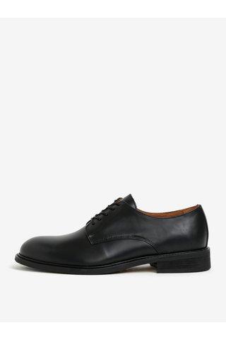 Pantofi negri din piele - Selected Homme Baxter