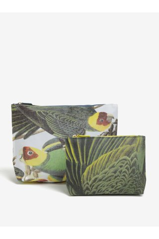 Set de 2 portfarduri cu papagali - Magpie Parrot