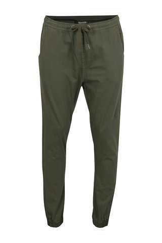 Pantaloni kaki sport cu talie elastica Shine Original
