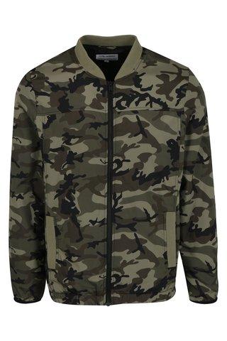 Jacheta bomber cu print camuflaj Shine Original
