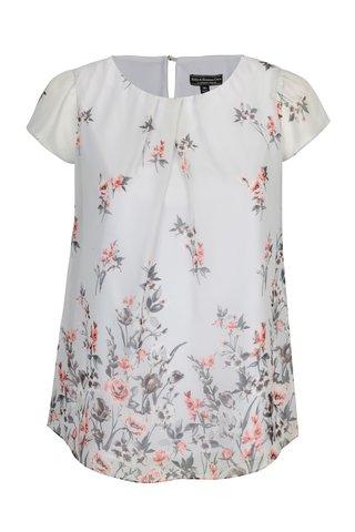Bluza gri deschis cu print floral - Billie & Blossom Curve