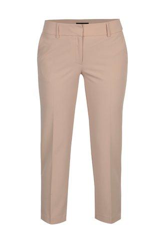 Pantaloni roz prafuit cu talie joasa si buzunare - Dorothy Perkins