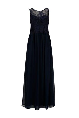 Rochie lunga bleumarin cu top din dantela - Dorothy Perkins