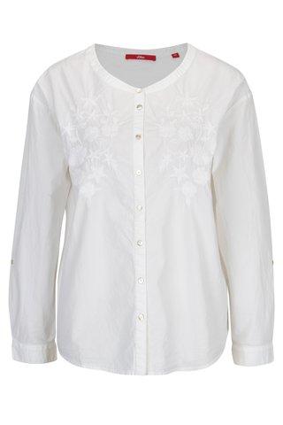 Bluza alba pentru femei - s.Oliver
