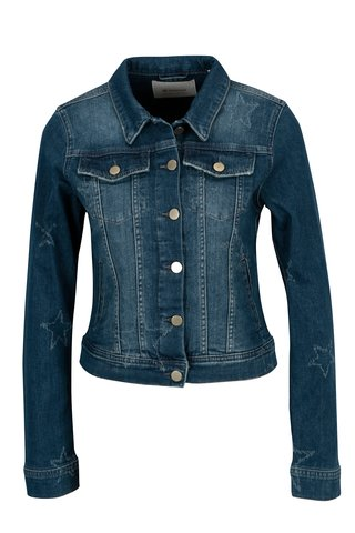 Jacheta albastra din denim - Rich & Royal