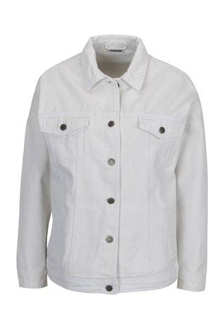 Jacheta alba din denim cu decupaje la coate - Noisy May Kell