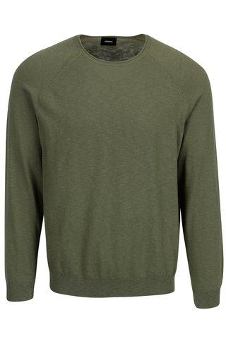 Pulover verde clasic  Burton Menswear London