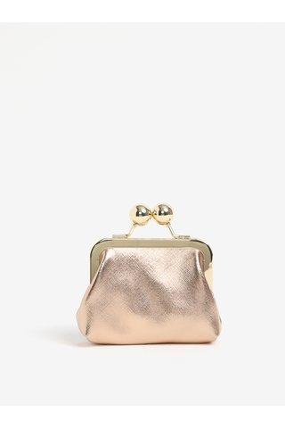 Peněženka v růžovo-zlaté barvě Oasis