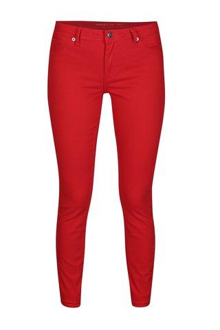 Blugi skinny rosii cu talie clasica Jacqueline de Yong New Five