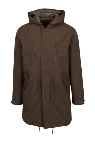 Jacheta parka kaki - Selected Homme James