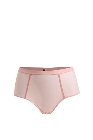 Růžové kalhotky s vysokým sedem ICÔNE Alice