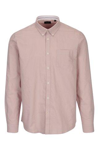 Camasa casual roz prafuit Broadway Harrison