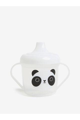 Canuta transparenta pentru copii cu motiv panda Sass & Belle