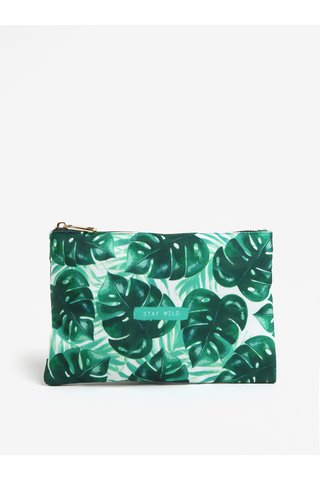 Geanta verde pentru cosmetice - Sass & Belle