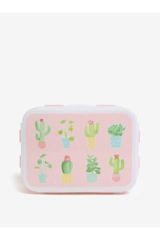 Světle růžový box na jídlo Sass & Belle