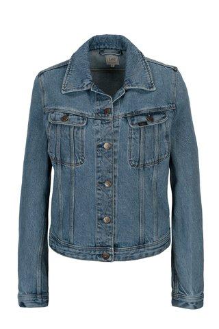 Modrá dámská džínová bunda Lee Rider