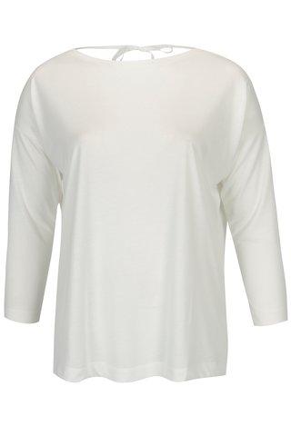 Bluza oversized crem cu decolteu pe partea din spate - Dorothy Perkins Curve