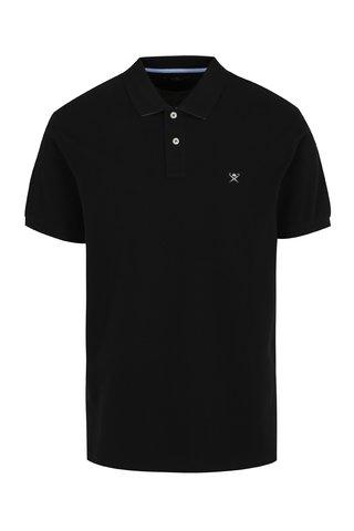 Tricou polo negru - Hackett London Classic