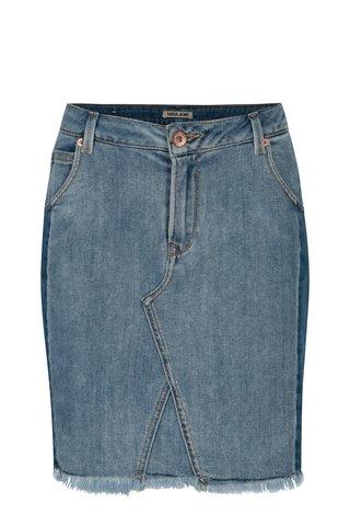 Modrá džínová slim fit sukně Garcia Jeans