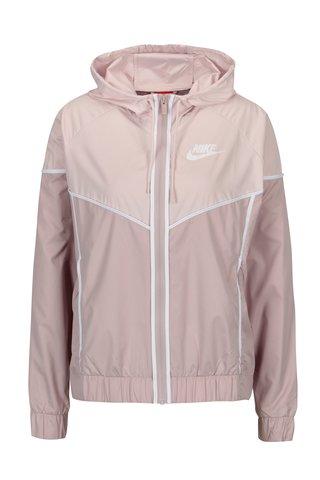 Jacheta roz cu gluga pentru femei Nike