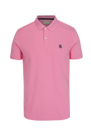 Tricou polo roz deschis - Selected Homme Haro