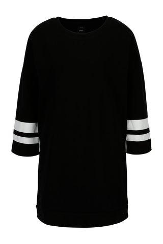 Bluza sport lunga neagra cu maneci 3/4 - ONLY Absolute