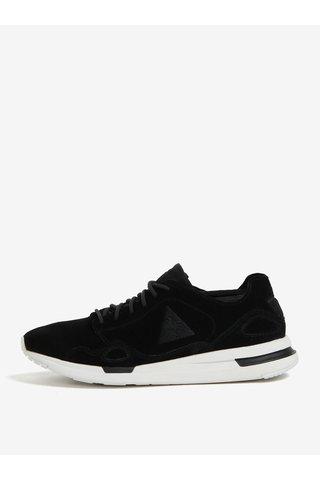 Pantofi sport negri din piele intoarsa pentru femei - Le Coq Sportif Flow