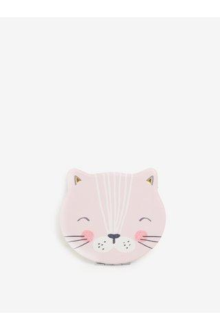 Oginda alb & roz compacta in forma de pisicuta - Disaster