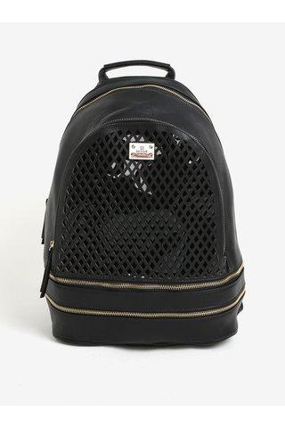 Rucsac negru cu detalii perforate - Bessie London