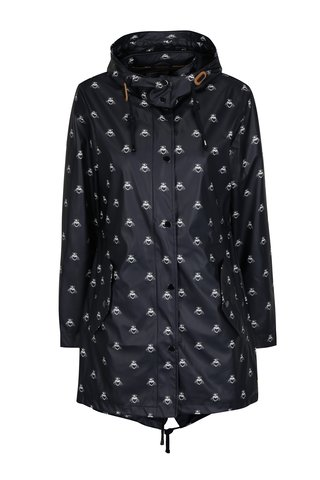 Jacheta parka neagra impermeabila pentru femei - Tom Joule Mistral