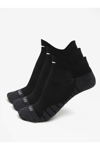 Set de 3 perechi de sosete negre - Nike Dry Cushion Low