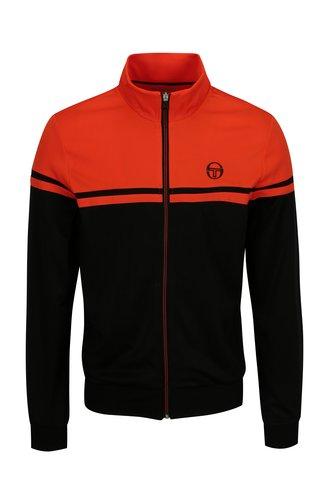 Jacheta sport negru & oranj pentru barbati - Sergio Tacchini Young Line