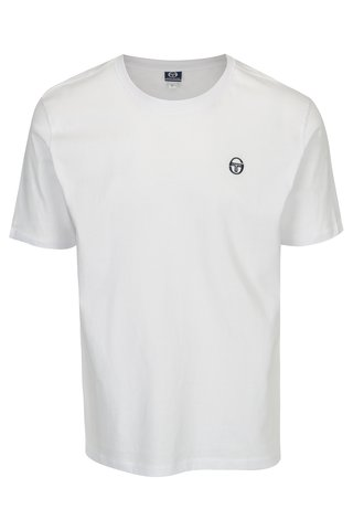Tricou alb cu logo  Sergio Tacchini Daiocco