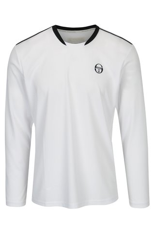 Bluza alba sport cu logo Sergio Tacchini Club Tech