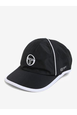 Sapca neagra cu logo brodat Sergio Tacchini Club Tech
