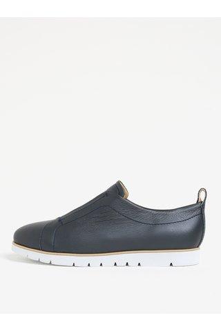 Pantofi sport bleumarin din piele pentru femei Geox Kookean