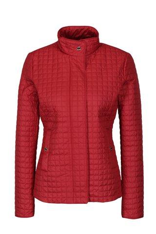 Jacheta rosie matlasata cu fermoar pentru femei Geox