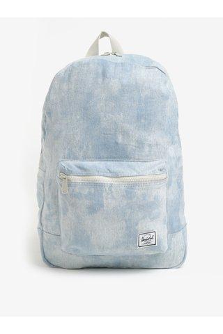 Rucscac din denim albastru cu alb Herschel Daypack 24,5 l