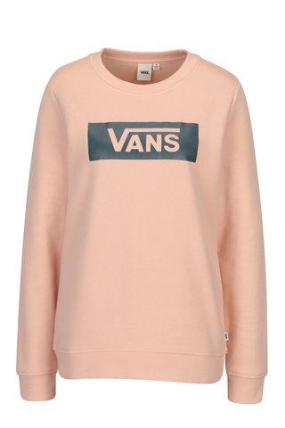 Bluza roz deschis cu print pentru femei - VANS Open Road