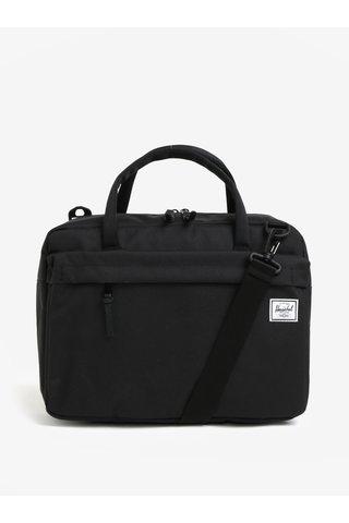 Geanta pentru laptop neagra cu bareta detasabila Herschel Gibson 15 l