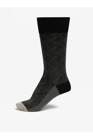 Sosete lungi unisex cu model - Happy Socks Circuit